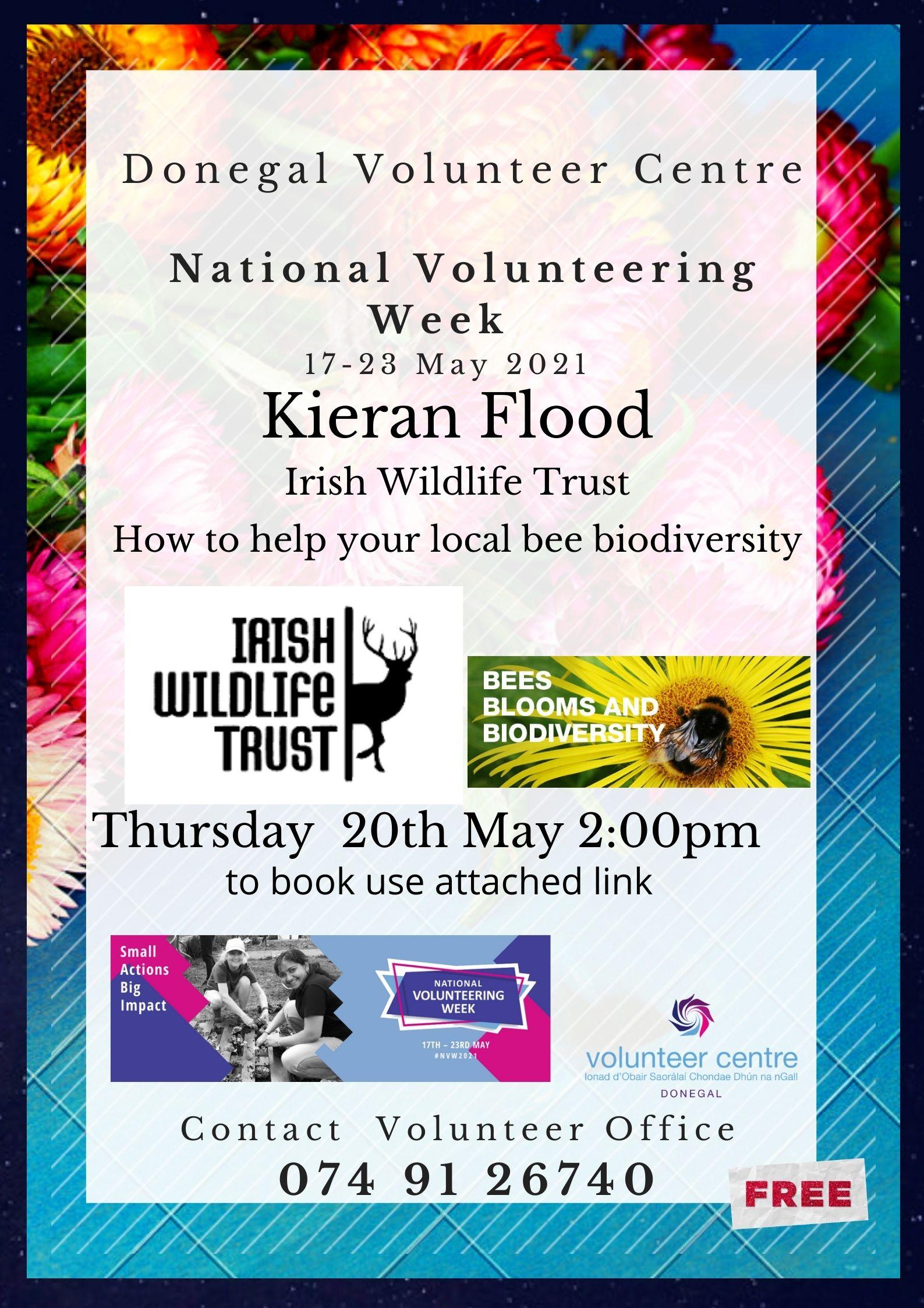 National Volunteer Week 2021 - Donegal Free Events Guide ...